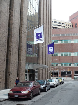 New York University College of Dentistry from E.25 Street