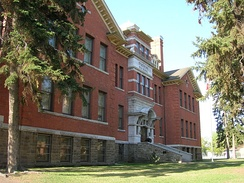 Old Scona High School in Edmonton, Alberta.