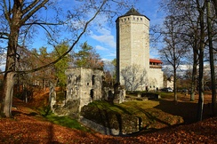 Teutonic Order castle in Paide, Estonia