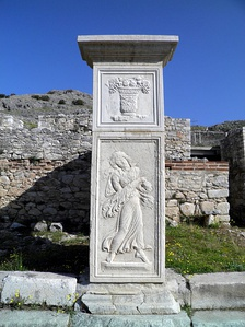 Relief decorations by Philip II (4th century BC)