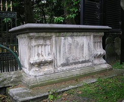 Tomb of Price and his wife Sarah in Bunhill Fields burial ground