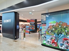 Sony at Westfield Riccarton shopping centre in Christchurch, New Zealand