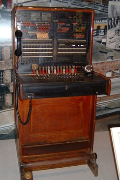 1924 PBX switchboard