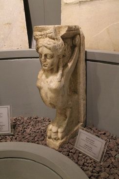 Sphinx table leg, Roman period in Tekirdağ Museum of Archaeology and Ethnography