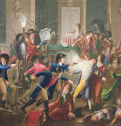 July 27: Robespierre and Saint-Just are arrested