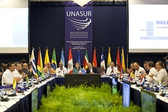 Meeting of Ministers of Foreign Affairs of the members of Unasur.