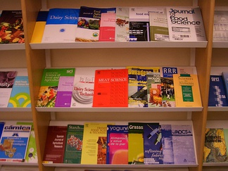 There are different types of peer-reviewed research journals; these specific publications are about food science
