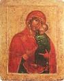 Малая икона Толгской Богоматери, начало XIV века