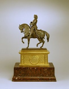 Charles VII the Victorious by Antoine-Louis Barye, held in The Walters Art Museum