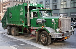 1987 Autocar garbage truck (built after the Volvo takeover)