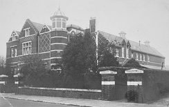 Bournemouth School opened on 22 January 1901, the day Queen Victoria died.