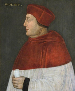 Cardinal-priest Thomas Wolsey