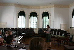 House chamber on the first floor of Congress Hall