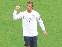 Beckham captained England 59 times in 115 appearances, the fourth highest after Bobby Moore, Billy Wright and Bryan Robson.[163]