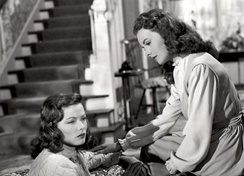 Gene Tierney and Jeanne Crain in Leave Her to Heaven
