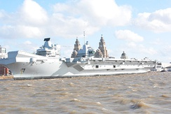 Prince of Wales alongside in Liverpool in 2020