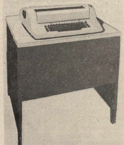 IBM 2741, a widely emulated computer terminal in the 1960s and 1970s(keyboard/printer)