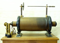 Induction coil, 1900, Bremerhaven, Germany