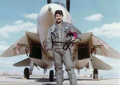 Iranian ace Jalil Zandi is credited with shooting down 11 Iraqi aircraft during the Iran–Iraq War, making him the most successful F-14 pilot.[67]