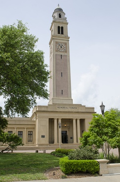 Memorial Tower at Louisiana State University