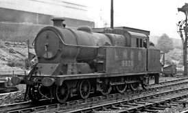 Robinson A5 steam locomotives operated GCR (later LNER) local services to High Wycombe, Princes Risborough and Aylesbury