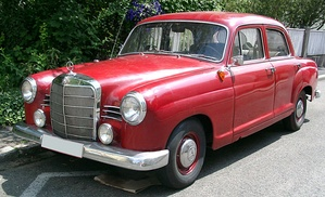For the 1960 model year the car received a wider grille