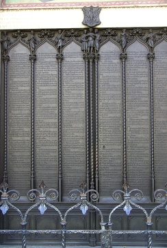 The Ninety-five Theses (at the All Saints' Church, Wittenburg)