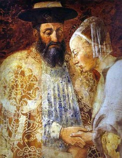King Solomon and the Queen of Sheba, from The History of the True Cross by Piero della Francesca