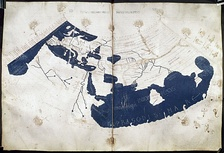 15th century reconstruction of Ptolemy's map.