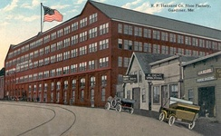 R. P. Hazzard Co. Shoe Factory in 1915