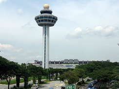 Singapore Changi Airport, Control Tower