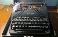 "The ""Speedline"" series portables were made from 1939 to 1948."