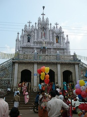 Front side of St. Antony's Syro-Malabar Catholic Forane Church