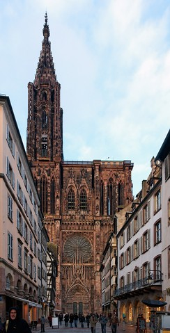Strasbourg Cathedral west front