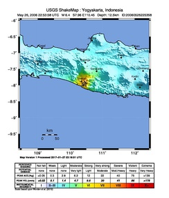 USGS ShakeMap for the mainshock