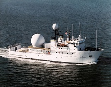 USNS Invincible (T-AGM-24), a Stalwart-class Missile Range Instrumentation Ship