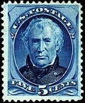 Postage stamp, issue of 1875