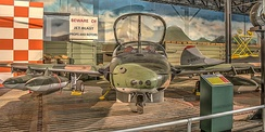 Cessna A-37A display at the Museum of Aviation