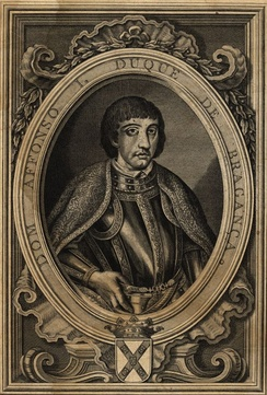 Afonso I, first Duke of Braganza and founder of the House of Braganza