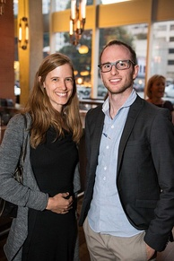 Joe Gebbia, Airbnb founder (right)