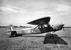 The Auster A.2/45 second prototype, VL523, of 1949
