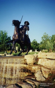 Buffalo Soldier Monument on Fort Leavenworth, Kansas