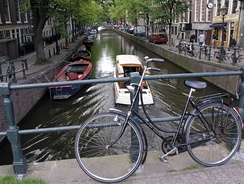 Bicycles have almost no carbon footprint compared to cars, and canal transport may represent a positive option for certain types of freight in the 21st century.[148]