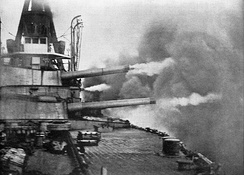 The Brazilian Minas Geraes class kindled an Argentine–Brazilian–Chilean naval arms race.