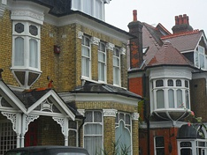 Ornate Edwardian architecture (seen here in Sutton, United Kingdom).