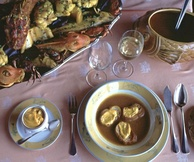 Traditional Marseille bouillabaisse