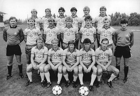1. Lok Leipzig team photo, 23 August 1983.
