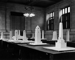 Competition designs for the Canadian National Vimy Memorial
