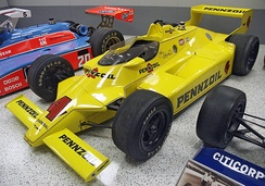 Chaparral 2K on display in the Indianapolis Motor Speedway Hall of Fame Museum