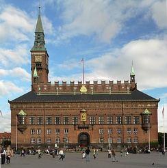 The City Hall of Copenhagen Municipality